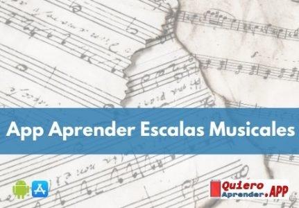 App Para Aprender Escalas Musicales