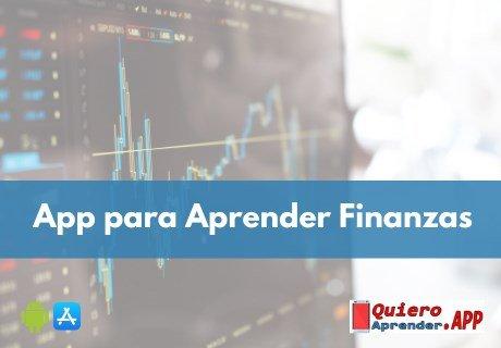 app para aprender finanzas personales