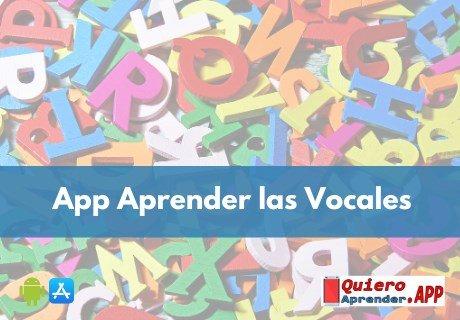 App Para Aprender Las Vocales