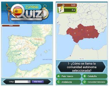 Geografía de España app