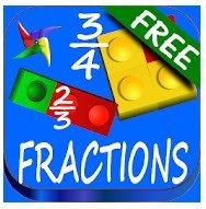 Juegos para estudiar fracciones matemáticas
