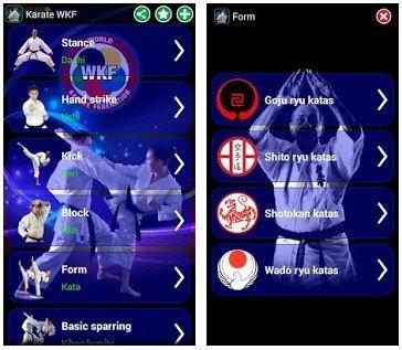 Karate WKF app
