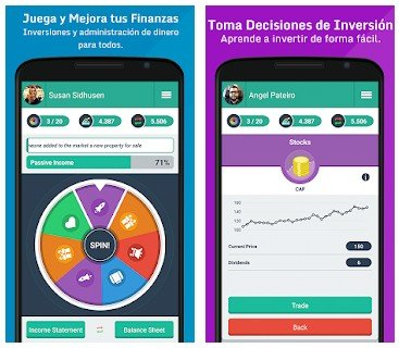 Money Race Juego de Finanzas e Inversiones