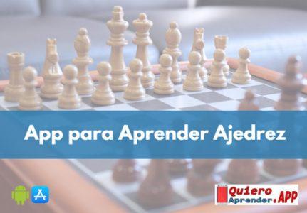 ¿Cual es la mejor app para aprender a jugar ajedrez?
