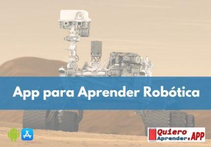 Aplicaciones para Aprender Robótica