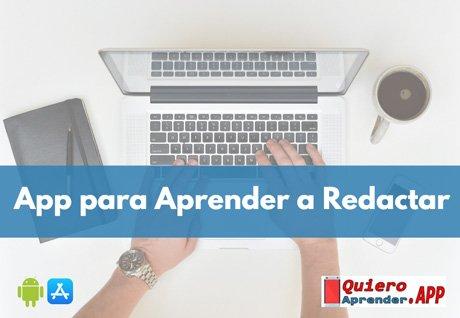 app para aprender a redactar