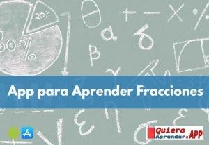 app para aprender fracciones