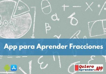 Mejores App para Aprender Fracciones Matemáticas
