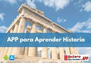 app para aprender historia