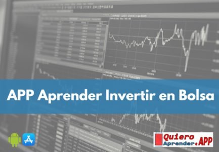 APP para Aprender Invertir En Bolsa para Principiantes y sin Dinero