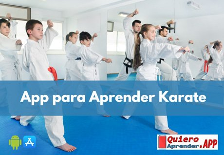 app para aprender karate