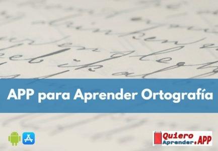 Aplicaciones para Aprender Ortografía Española