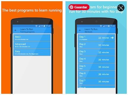 aprende running desde cero app