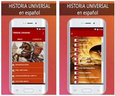 historia universal en español