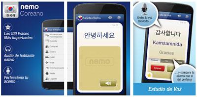nemo-coreano-gratis-app