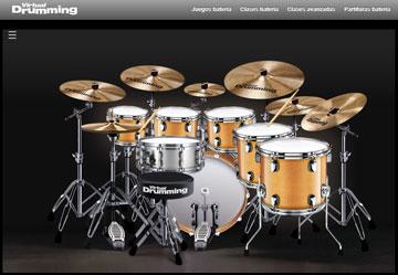 virtual-drumming